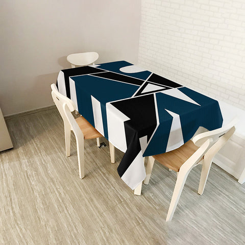 Modern tablecloth