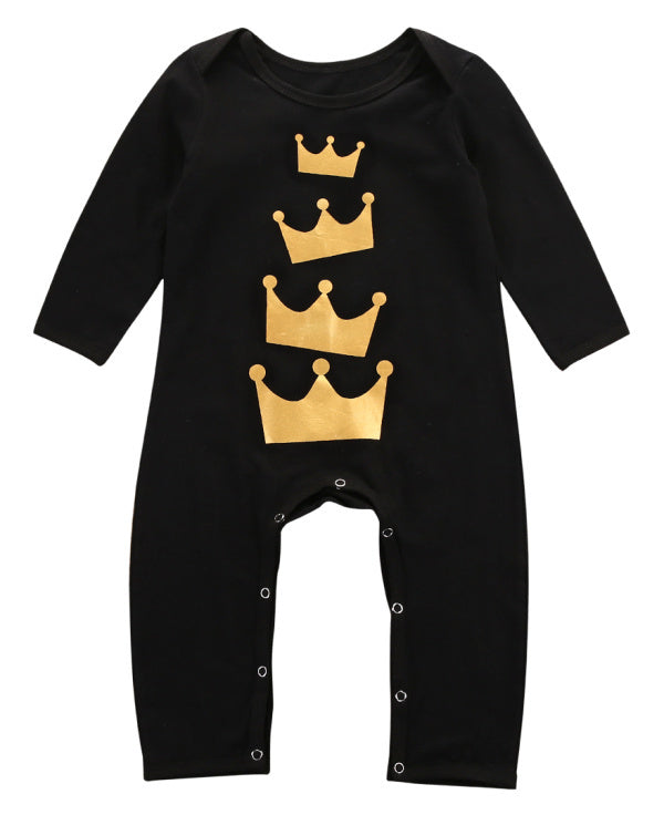 Crown romper