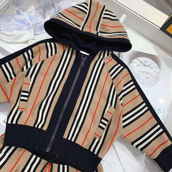 BB striped sweatshirt collection