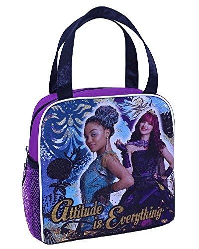 Disney Descendants 2 Attitude Soft Insulated Lunchbox School Zipper Cooler Bag