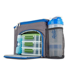 Monique's Basics Insulated Lunch Box Set, Meal Management Bag