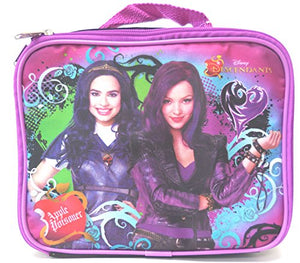 "Disney Descendants Lunch Insulated Tote Bag "" Mal and Evie"""