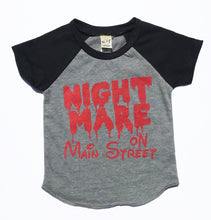 SALE Nightmare on Main Street INFANT Disney Halloween Raglan Baseball Tee Holiday