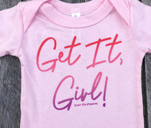Get It Girl Ombre Pink INFANT Tee Feminist