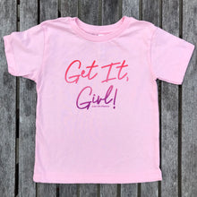 Get It Girl Ombre Pink TODDLER Tee Feminist
