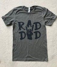 Rad Dad Rock Fist Unisex Men's Tee