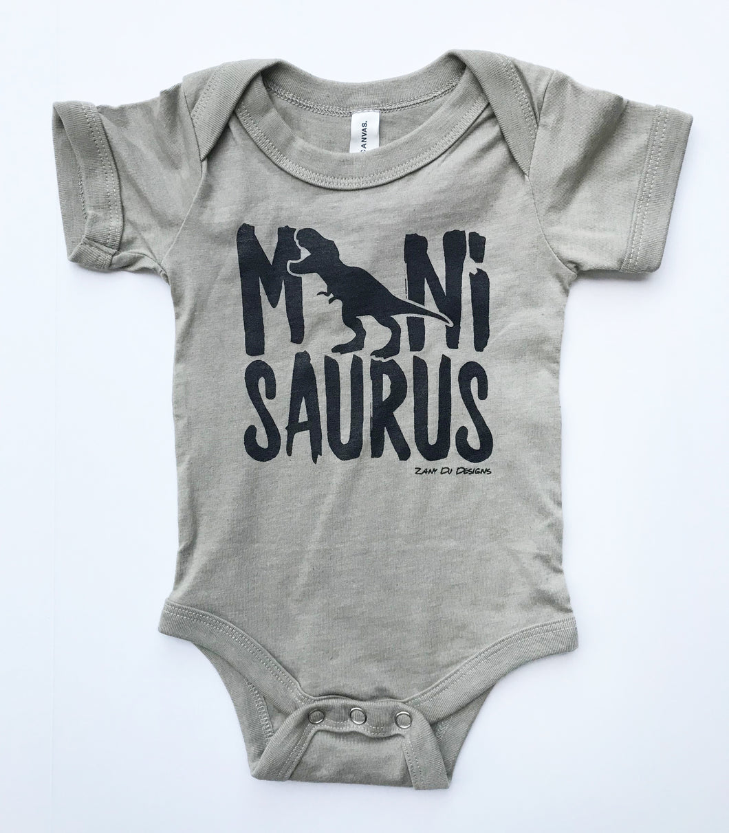 Minisaurus Heather Stone INFANT Bodysuit