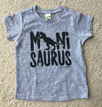 Minisaurus Heather GREY INFANT Tee