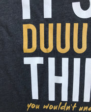 It's A Duuuval Thing Duval Florida Teal Gold YOUTH Tee