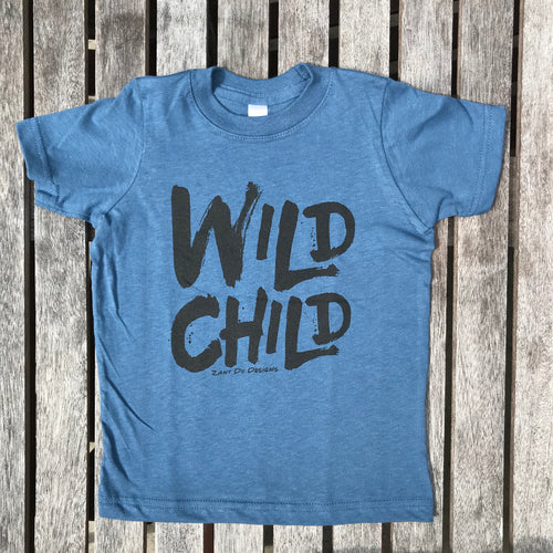 Wild Child INDIGO TODDLER Tee