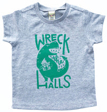 SALE Wreck the Halls Dinosaur Christmas Holiday TODDLER Tee Holiday