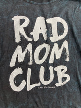 Rad Mom Acid Wash Vneck Tee