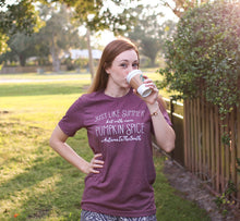 SALE Just Like Summer But With More Pumpkin Spice Womens Fall Autum in the South Tee Holiday hdrop