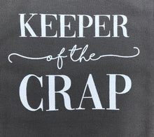 Keeper of the Crap Canvas Tote Bag New