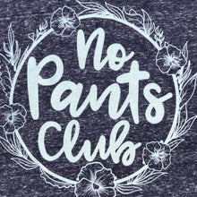 No Pants Club Heather Raglan Sweatshirt Unisex Women