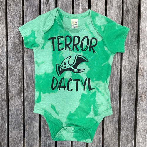 Terror-Dactyl Green Bleach INFANT Bodysuit