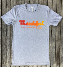 Thankful To Not Leave The House Unisex Ombre Tee