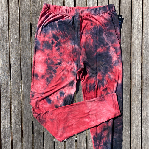 Pink Tie Dye Leggings New