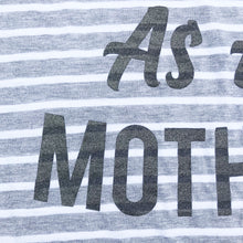 Anxious As a Mother Stripe Racerback Tank Top Mom