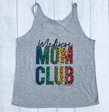 Mediocre Mom Club RAINBOW CHEETAH TANK Mom