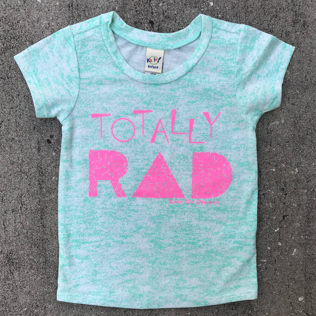 Totally Rad 90s INFANT Static Tee New