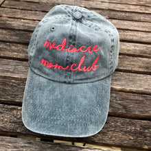 Mediocre Mom Club Adjustable CHARCOAL Garment Dyed Hat New