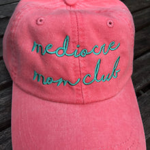 Mediocre Mom Club Adjustable PINK Garment Dyed Hat New
