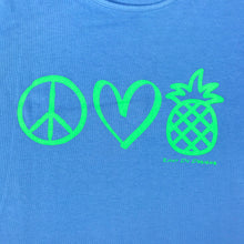 Peace Love Pineapples TANK Womens