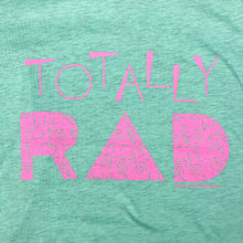 Totally Rad Mint UNISEX Adult Tee New