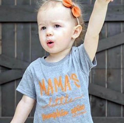 SALE Mama's Little Pumpkin Spice Infant Tee