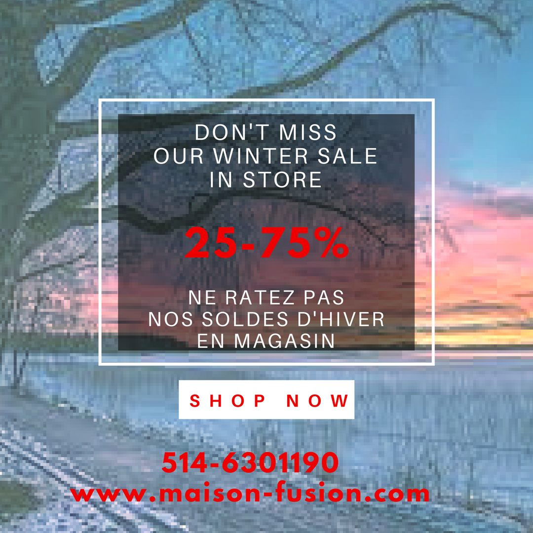 Maison Fusion Winter Sale 2017