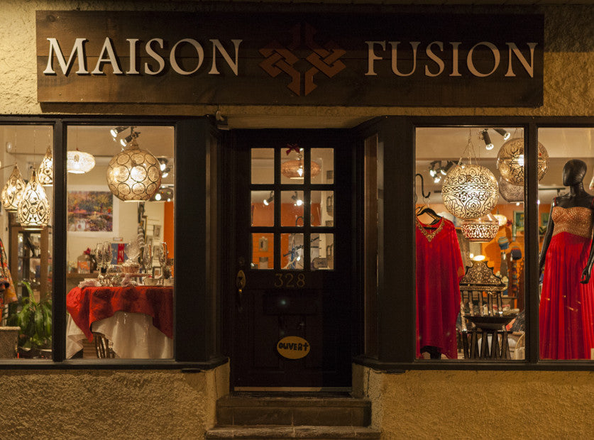 Maison Fusion Front Door at Pointe-Claire Village