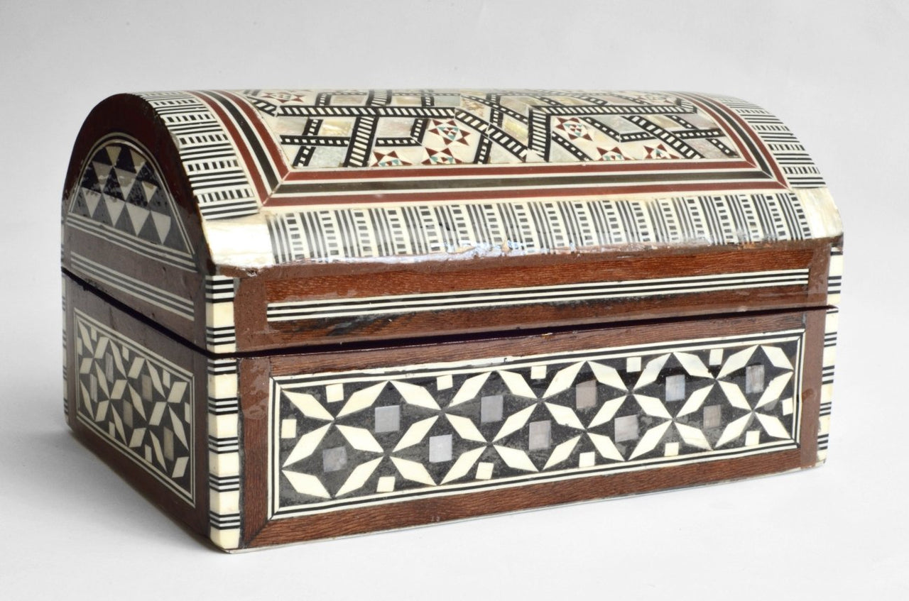 Jewelry Boxes with Inlaid Mother of Pearl small