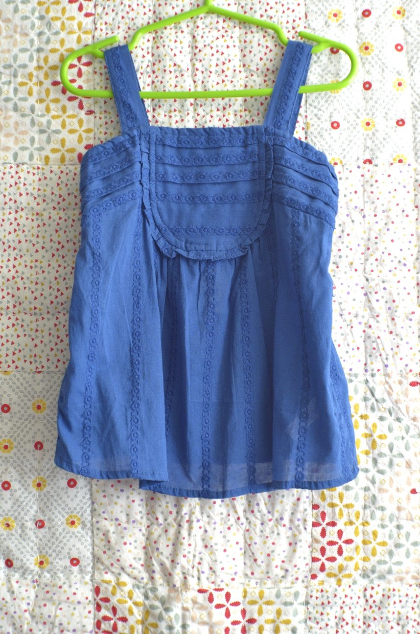 Toddler's Blue Top