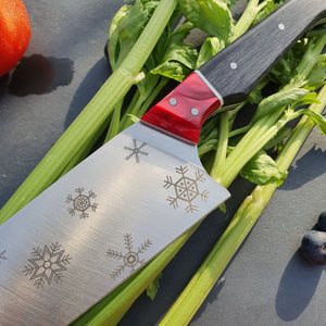 "Chef's Knife ""Snowflake"""