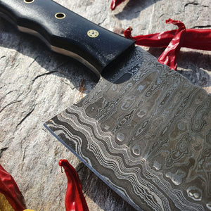 Damascus Cleaver