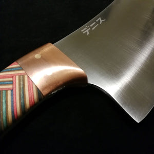 Cleaver with mirrored braid pattern skateboard handle
