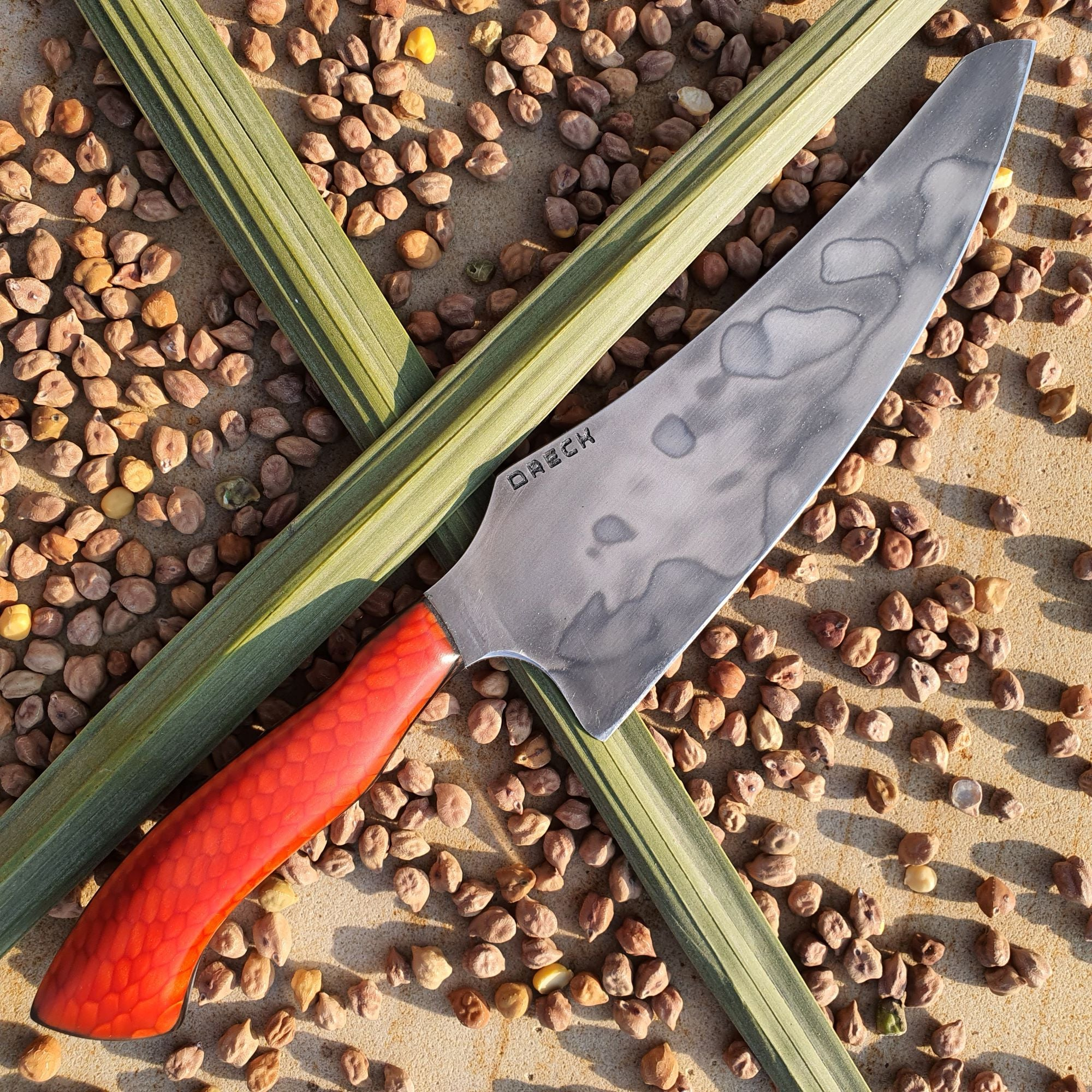 "Chef's Knife ""Orange Madman"""