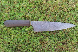 Yvo 1 in Damascus Steel