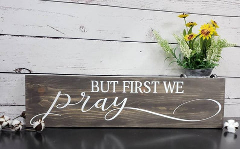 Christian wooden sign
