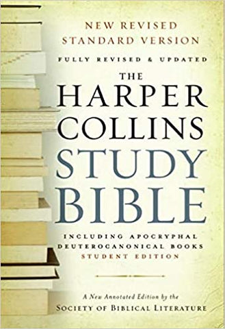 HarperCollins Study Bible Cover