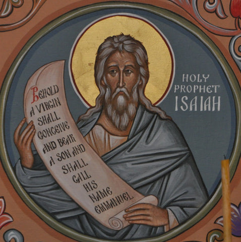 Icon of Holy Prophet Isaiah