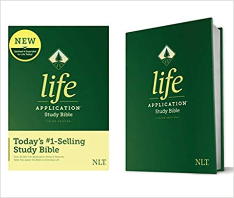 Study Bible with green covers