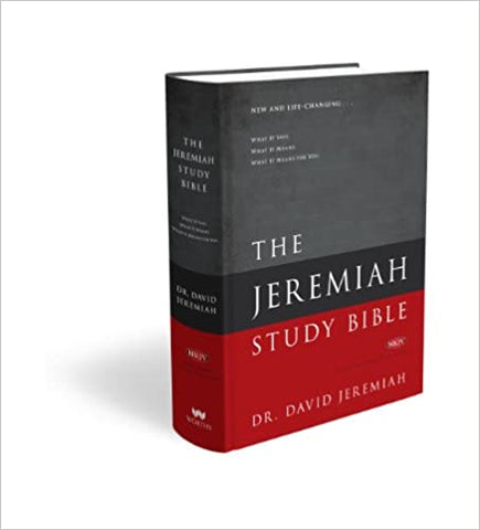 The Jeremiah Study Bible Cover