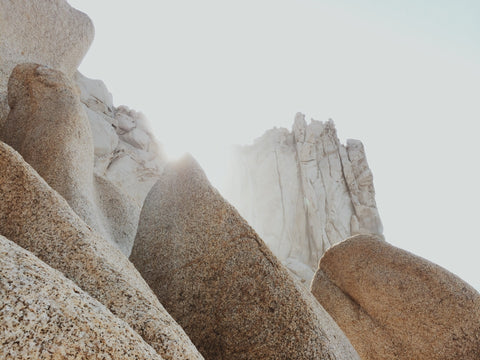 Rocks and mountains