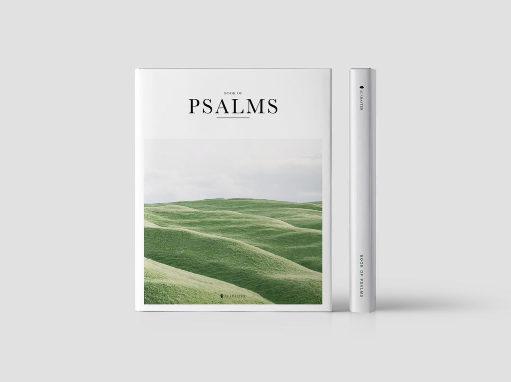 Limited Edition Psalms (Hardcover) | Alabaster Bible | Alabaster Co
