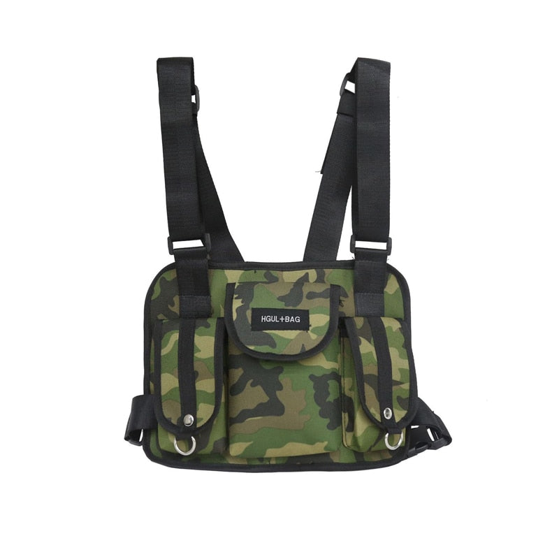 Functional Military Tactical Chest Bag