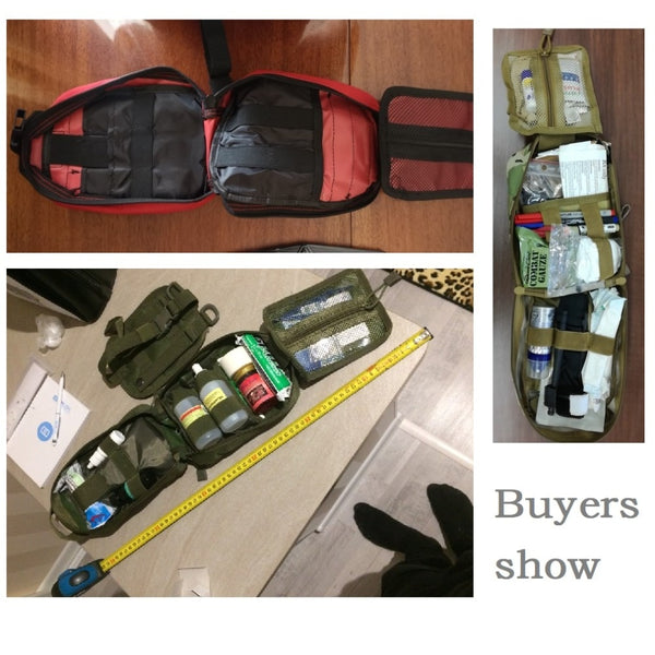 Tactical Medical First Aid Bag