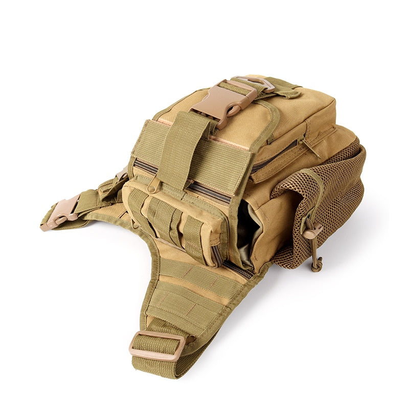 600 D Tactical Molle Army Bag Pack