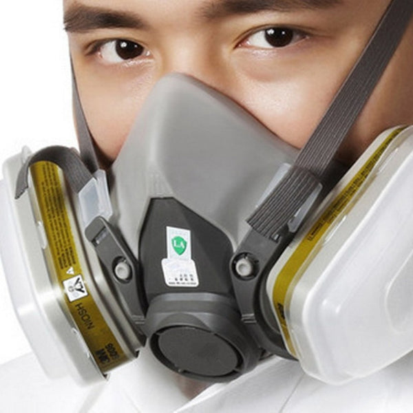 7pcs Anti Virus Full Face Respirator Mask